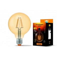 Светодиодная лампа Videx 7W E27 2200K Filament