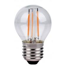 Светодиодная лампа G45 5W E27 4000К (Filament)